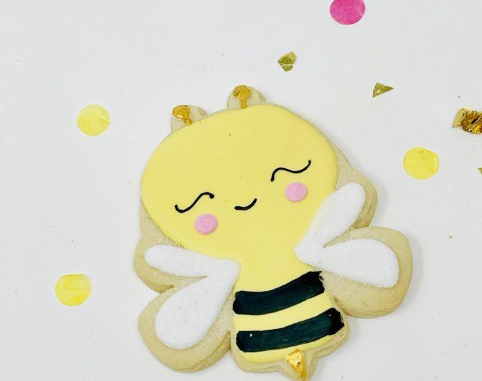 Vegan Bumblebee Cookies