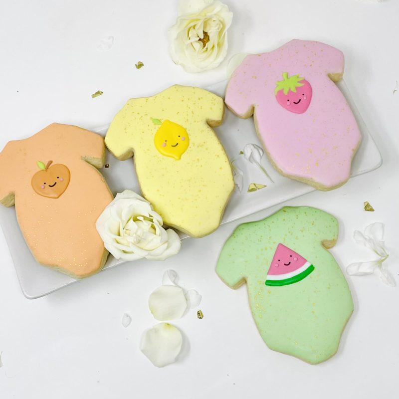 Fruity Onesie Cookies