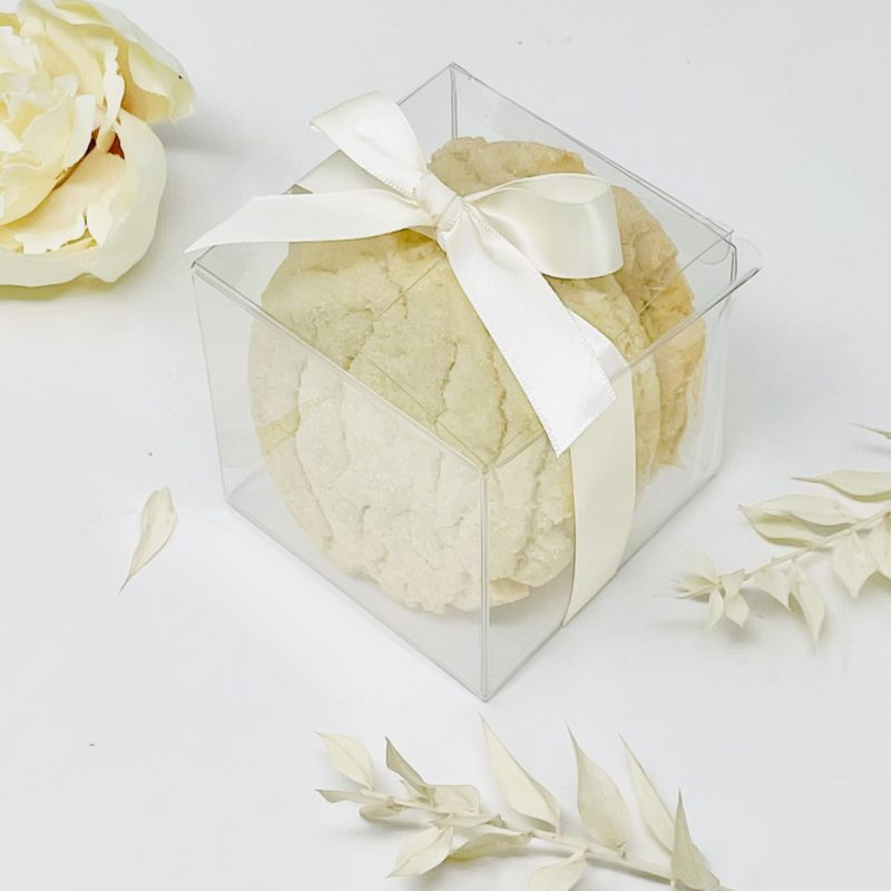 Homemade Cookie Wedding Favours