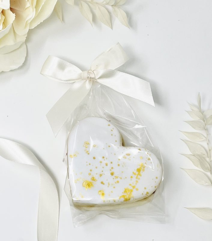 Imperial Cookie Wedding Favours