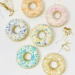 Vanilla Sprinkle Doughnuts