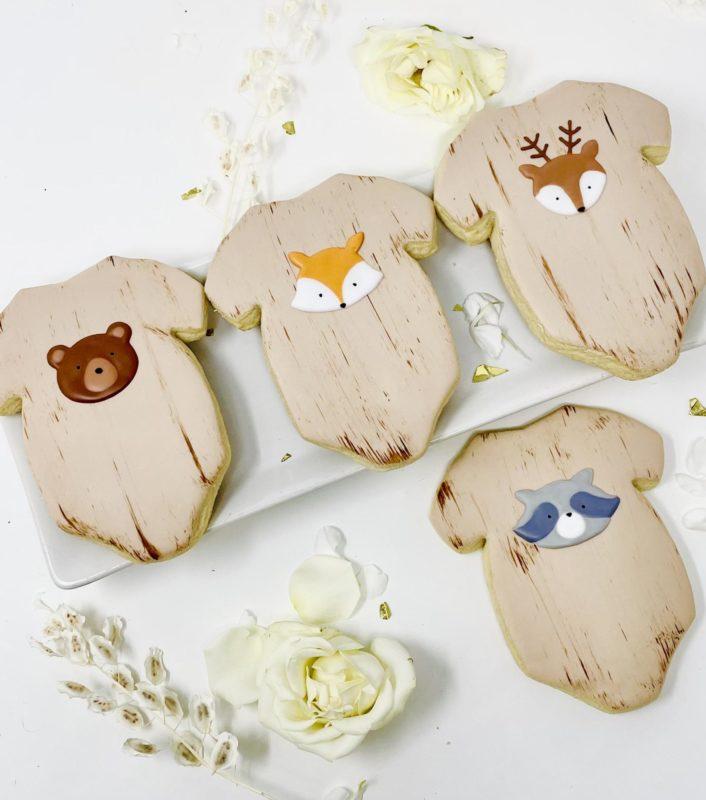 Vegan Woodlands Onesie Cookies
