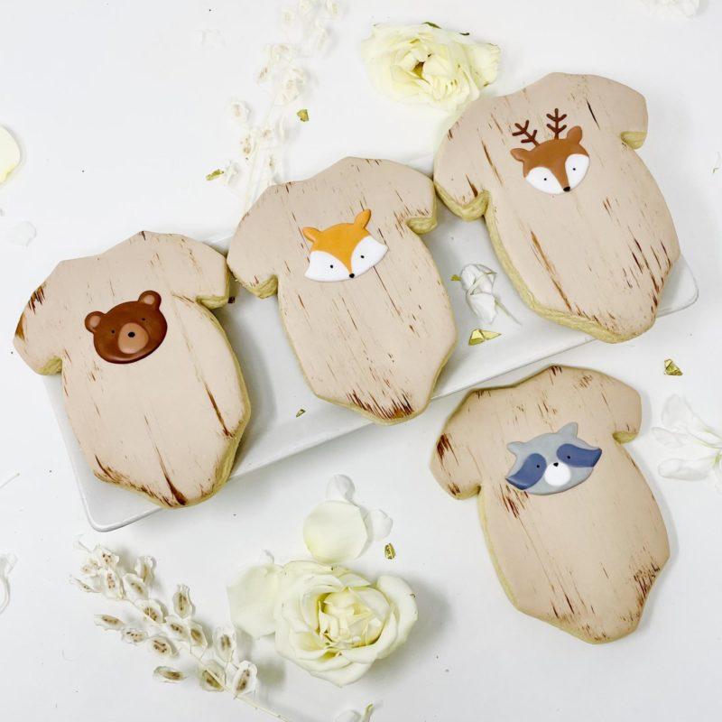 Woodlands Onesie Cookies