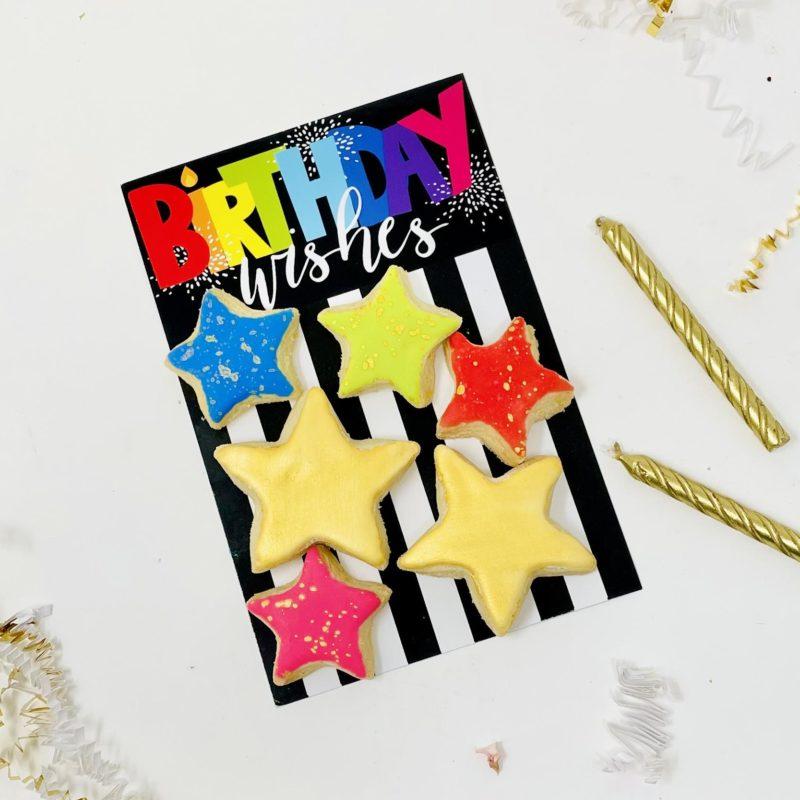 Birthday Wishes Mini Cookie Set