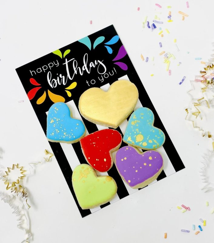 Happy Birthday To You Mini Cookie Set