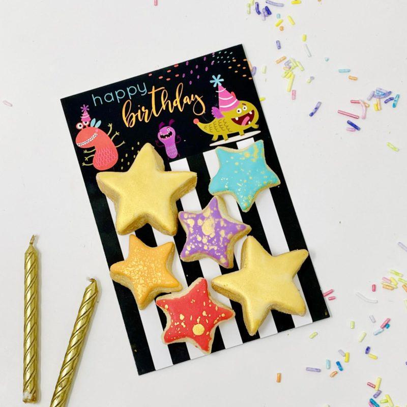 Birthday Monsters Mini Cookie Set