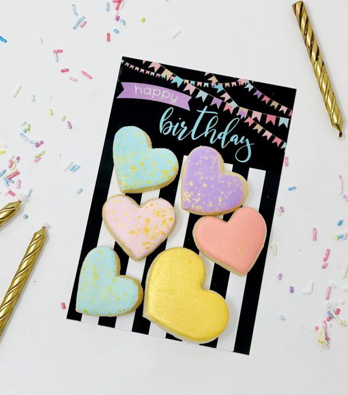 Happy Birthday Mini Cookie Set