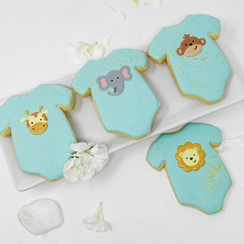 Jungle Onesie Cookies