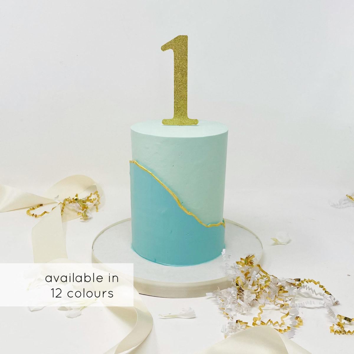 Luxe Monochrome Smash Cake