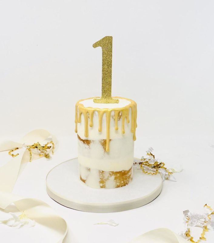 Luxe Nearly Naked Smash Cake
