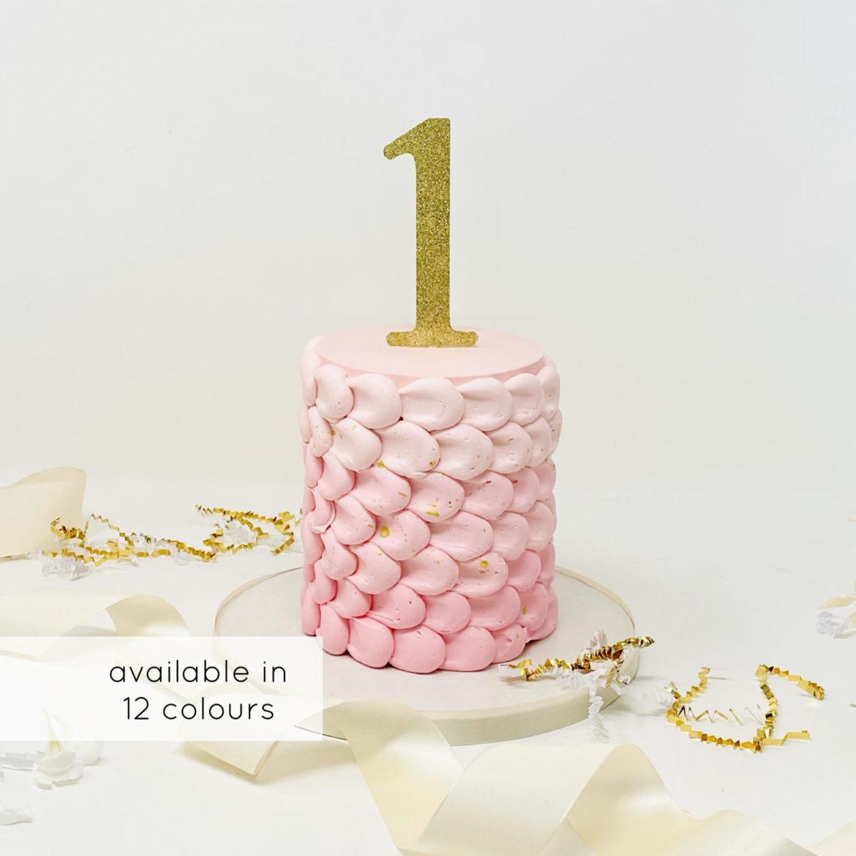 Luxe Petal Smash Cake
