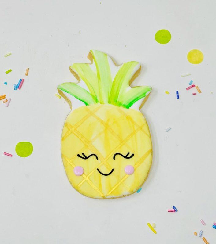 Vegan Pineapple Cookies