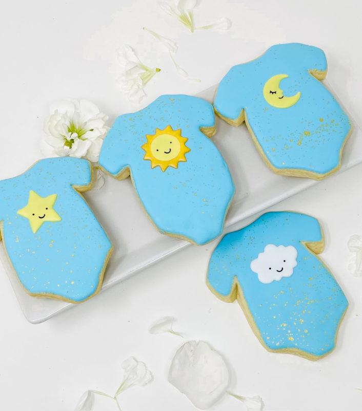 Vegan Twinkle Onesie Cookies