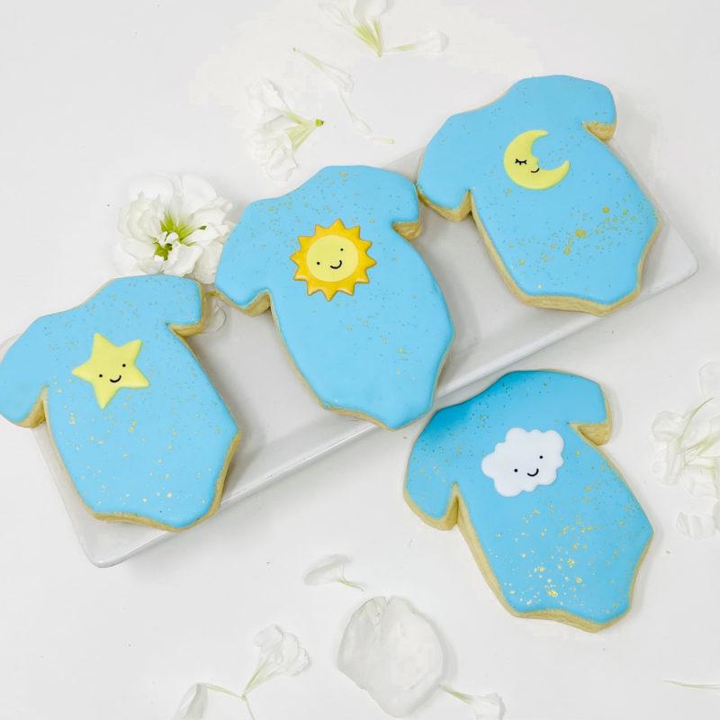 Twinkle Onesie Cookies