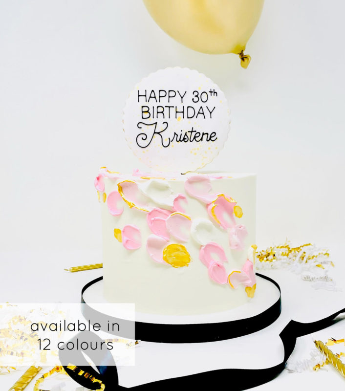 Luxe Feather Cake