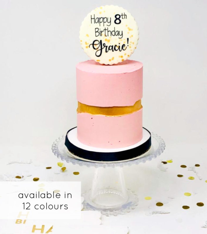 Luxe Halo Cake