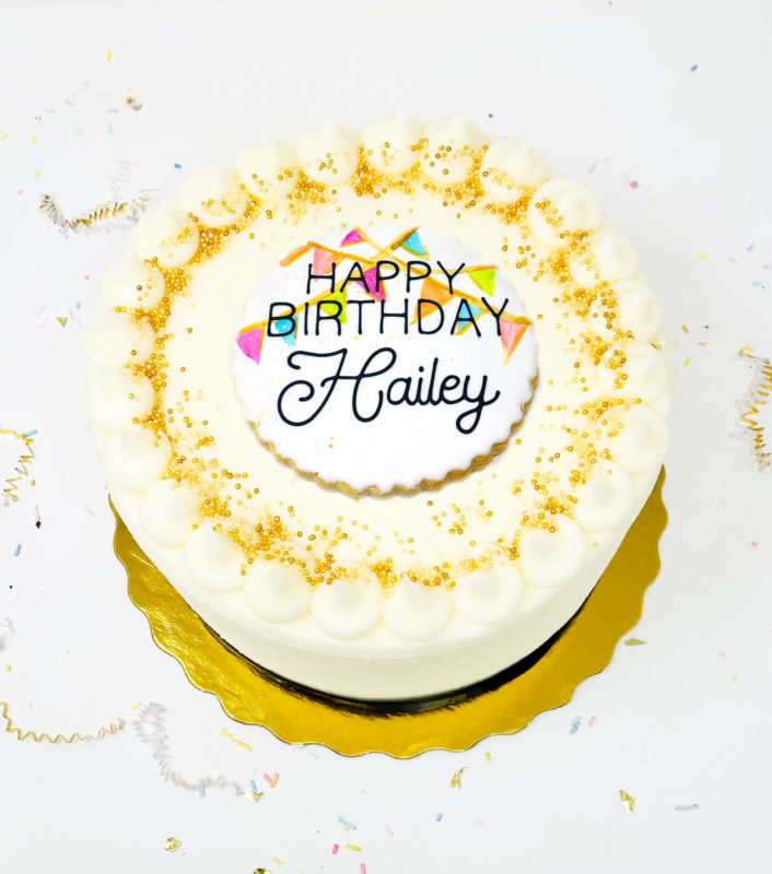 Vegan Hip Hip Hooray Cake