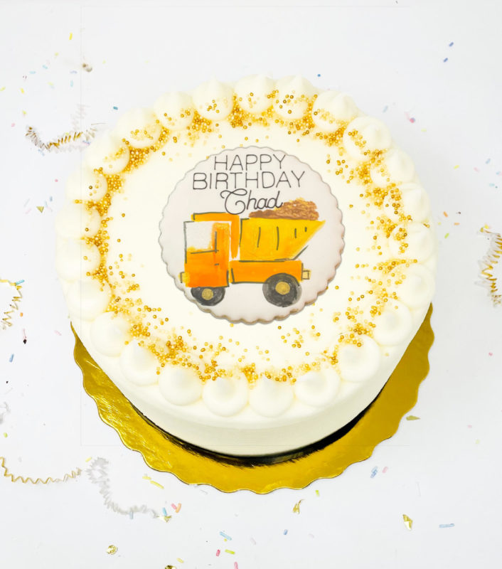 Vegan Under Construction Cake
