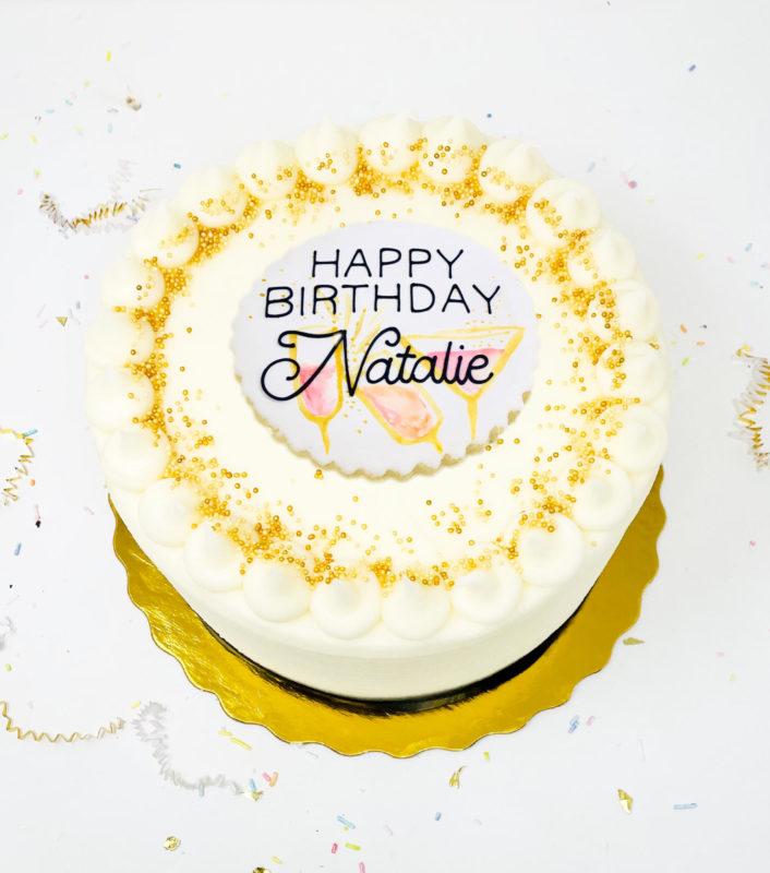 Vegan Happy Hour Cake