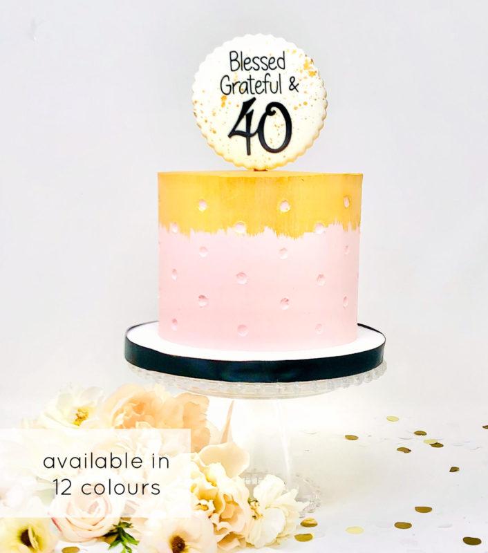 Luxe Dottie Cake