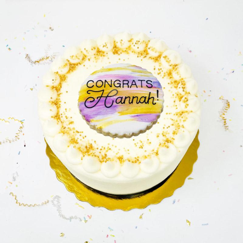 Vegan Purple Haze Cake