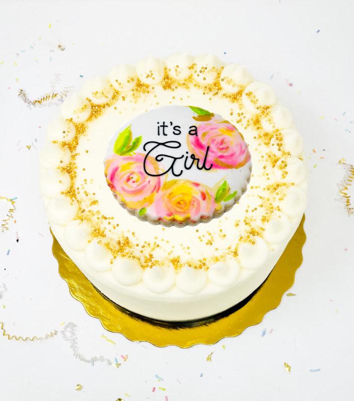 Vegan In Full Bloom Cake
