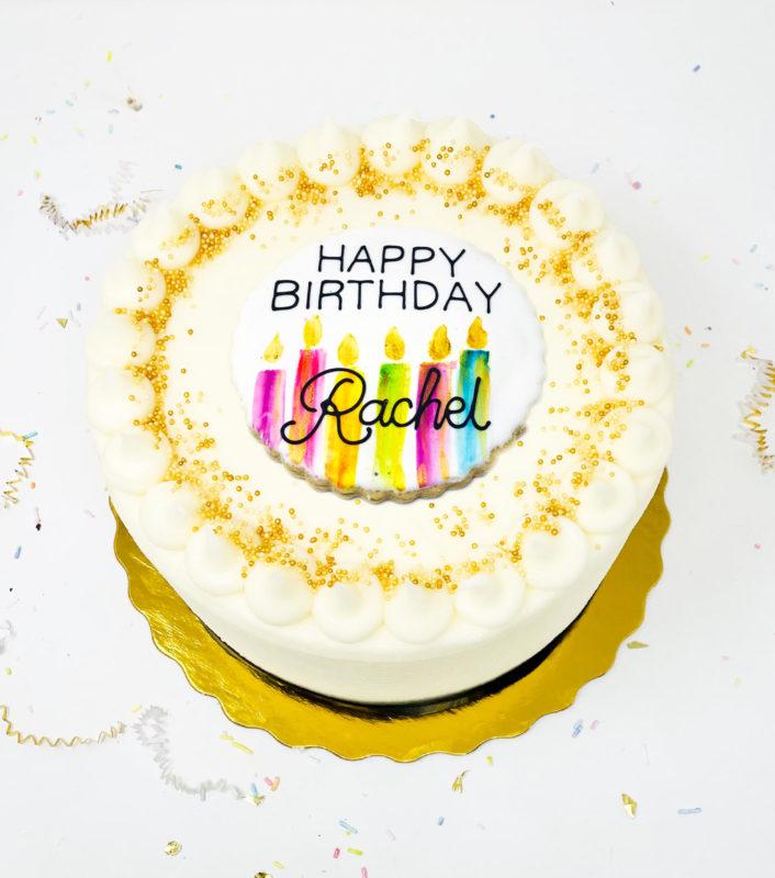 Vegan Make a Wish Cake