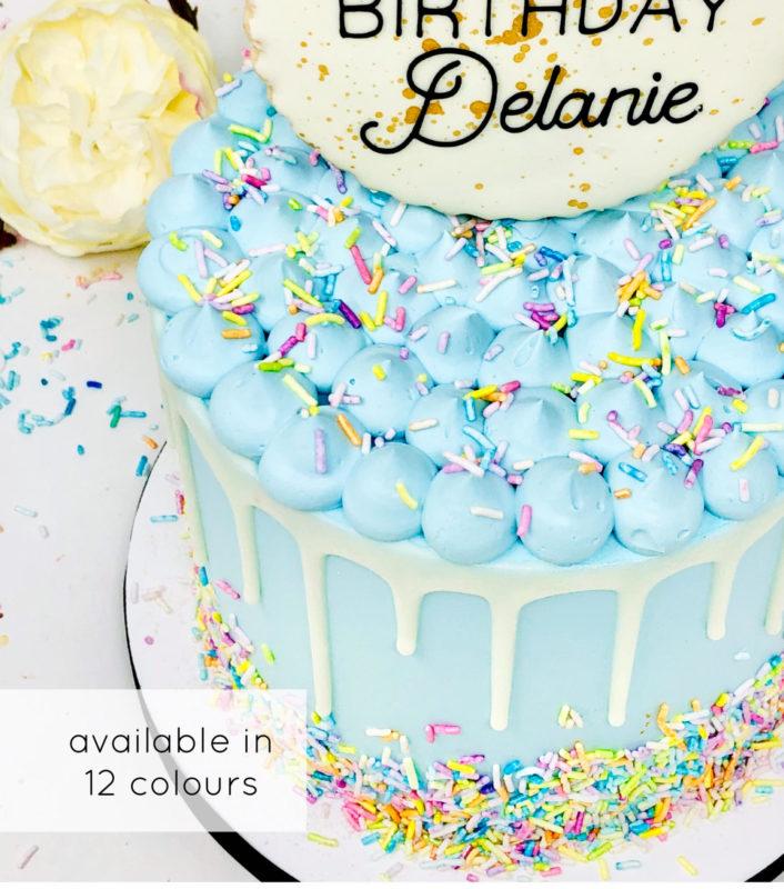 Luxe Confetti Cake
