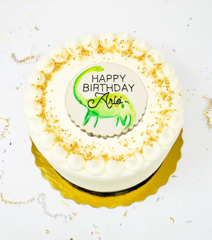 Vegan Dino-Mite Cake
