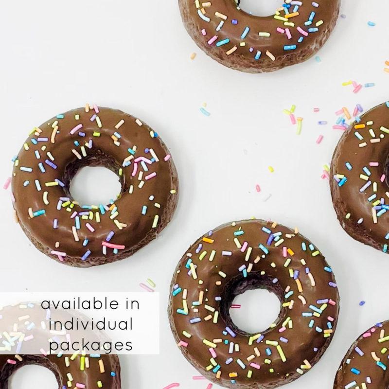 Chocolate Sprinkle Doughnuts