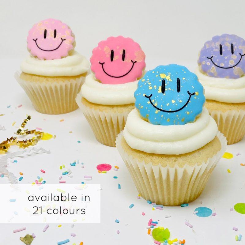 Vegan Happy Cupcakes