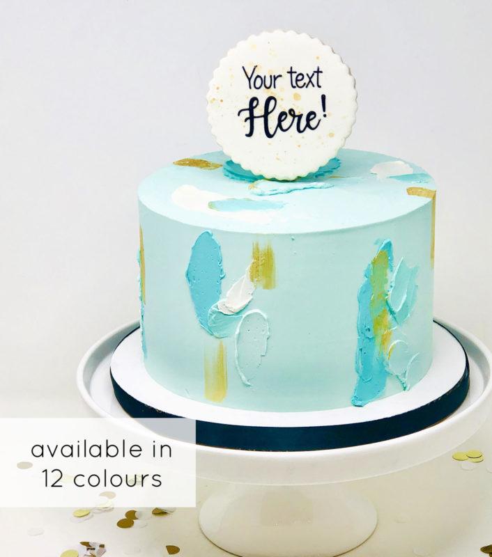Luxe Artsy Cake