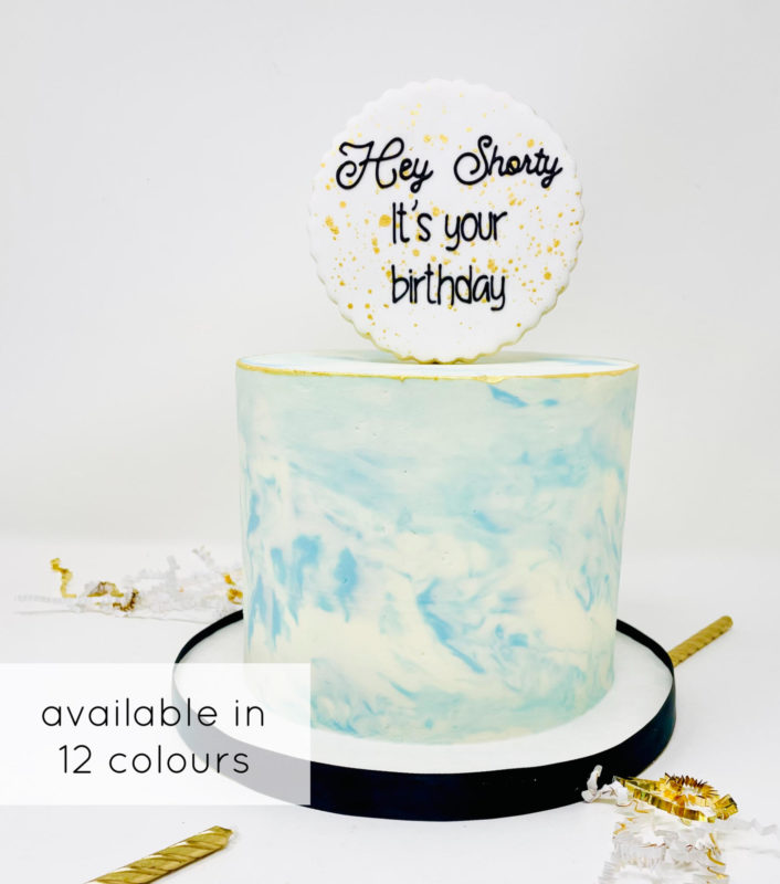 Luxe Marble Cake