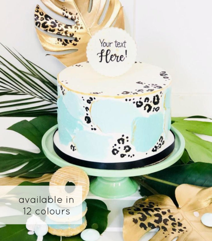 Luxe Party Animal Cake