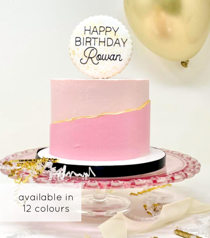Luxe Monochrome Cake
