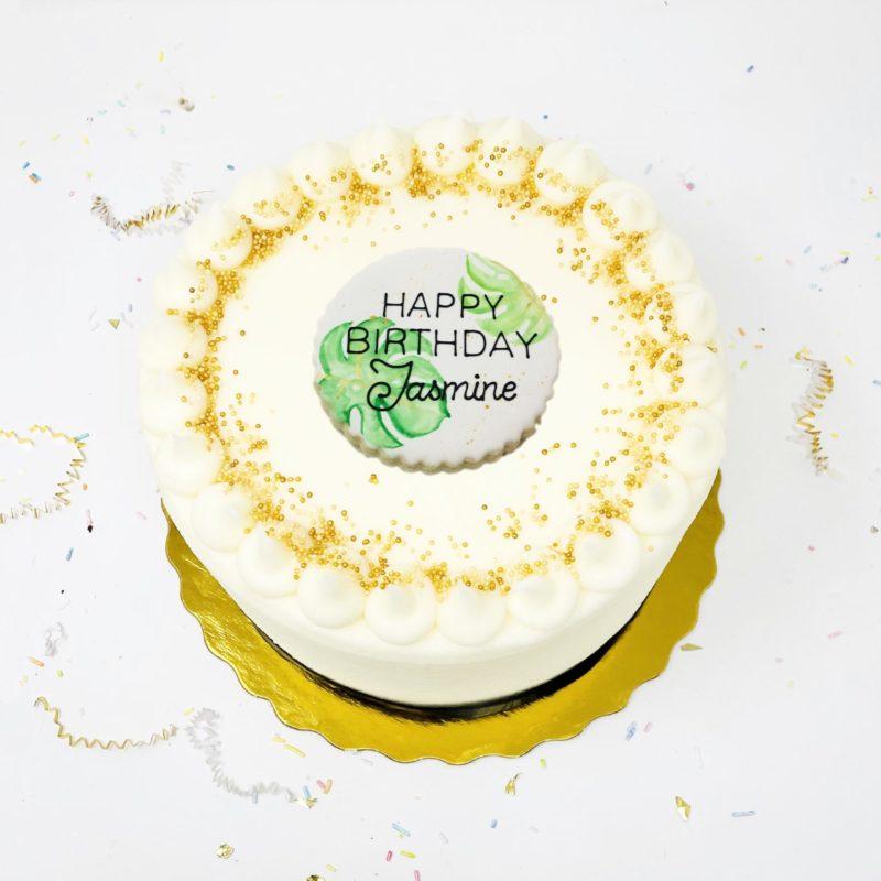 Vegan Plant Lover Cake
