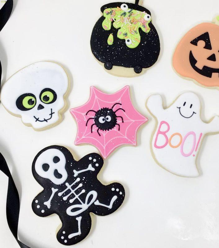 Vegan Halloween Cookie Set