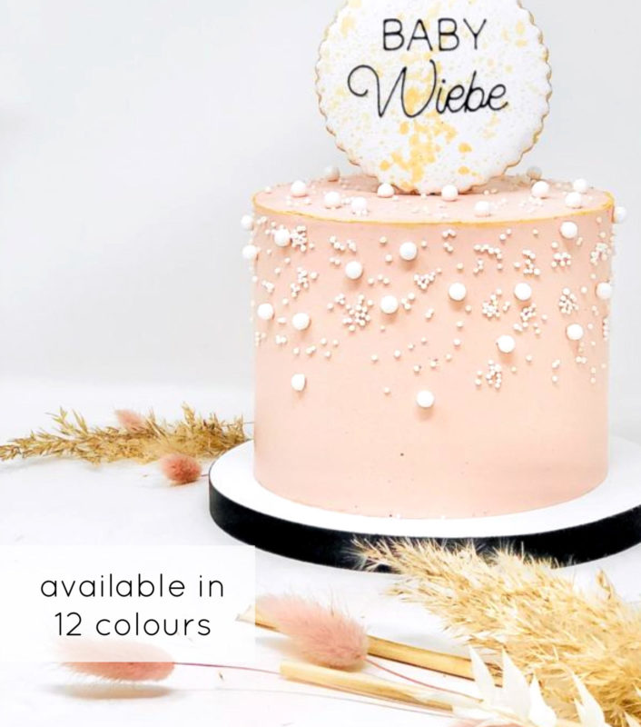 Luxe Pearl Cake