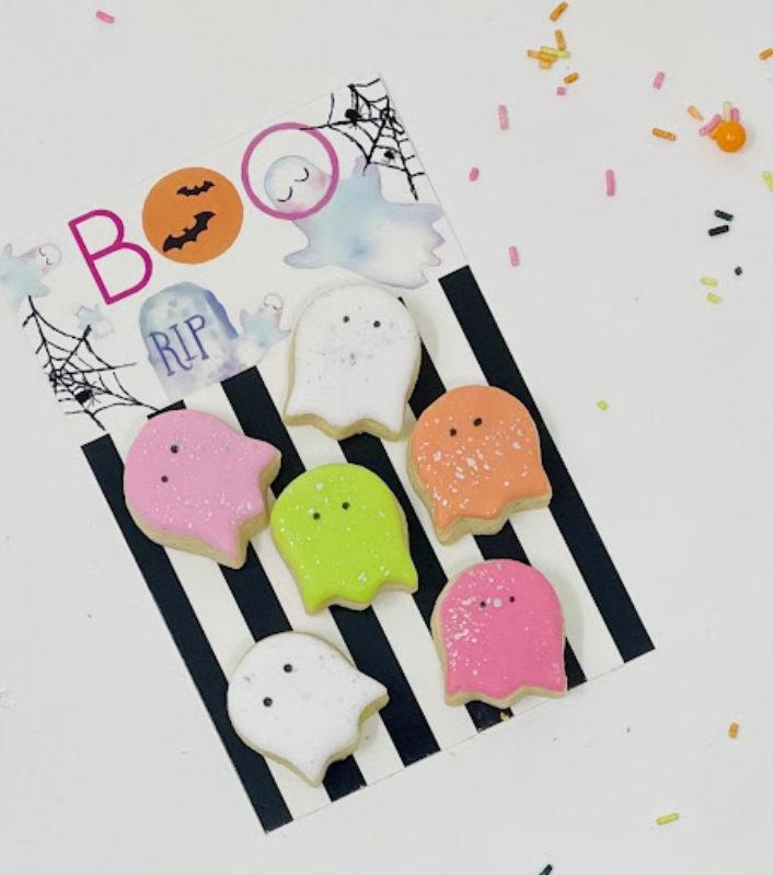 Vegan Boo Mini Cookie Set